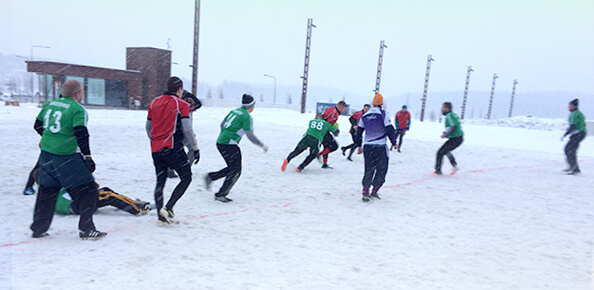 snow rugby men final