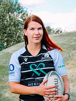 Kati Heikkonen : Flanker, no 8