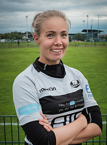 Jenni Sjöroos : Fly half, Center